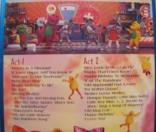 Barney Big Surprise Soundtrack