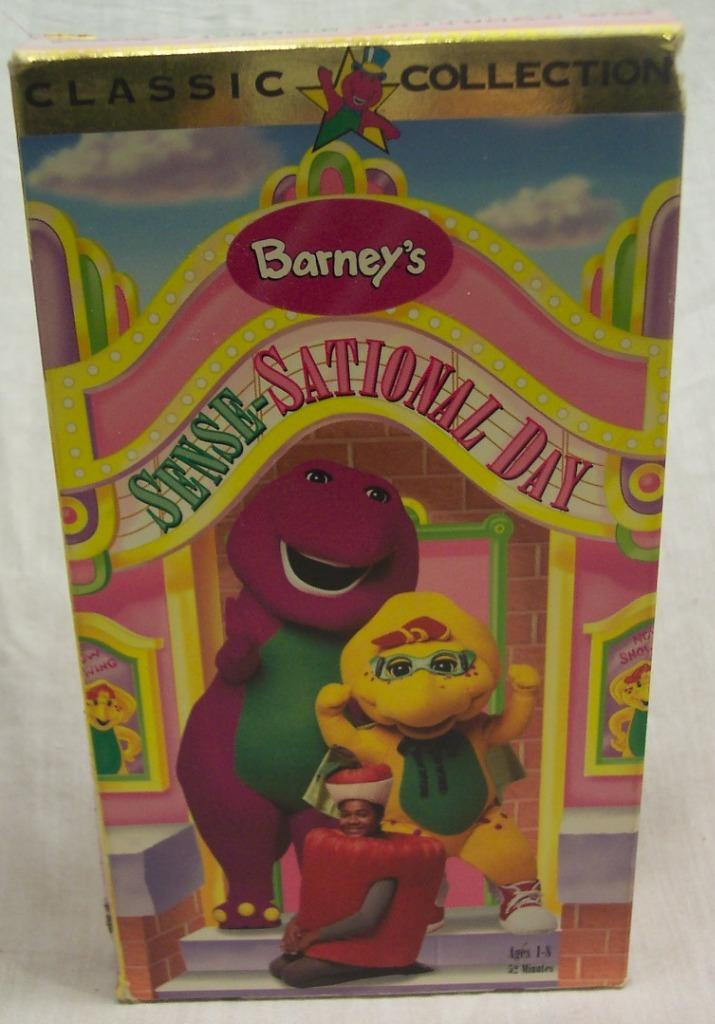 Sational Vhs Barney Day Sense
