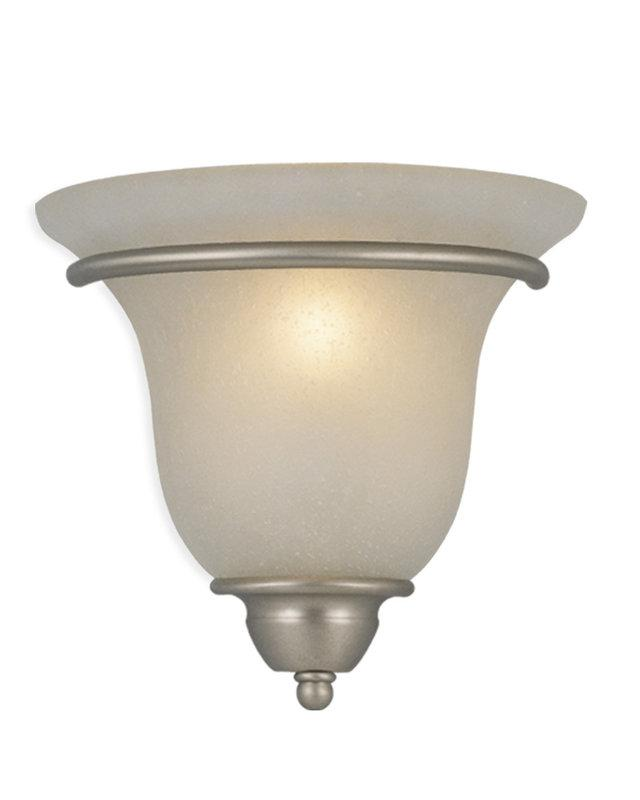 Brushed Nickel 1 Light Vaxcel Monrovia Wall Washer