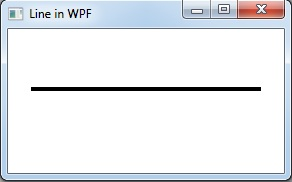 horizontal line in WPF
