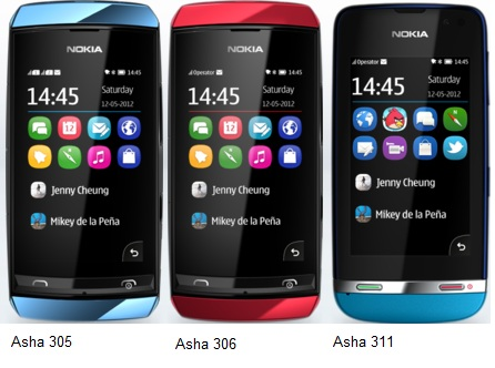 Nokia Asha 305, 306 and 311 gallery