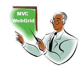 MVC WebGrid