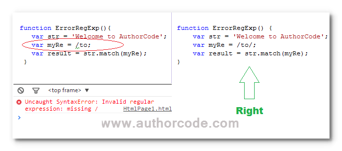 How to prevent your javaScript code from syntax errors