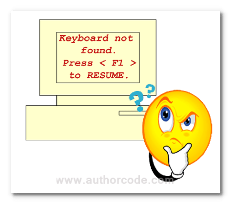 keyboard-is-not-found