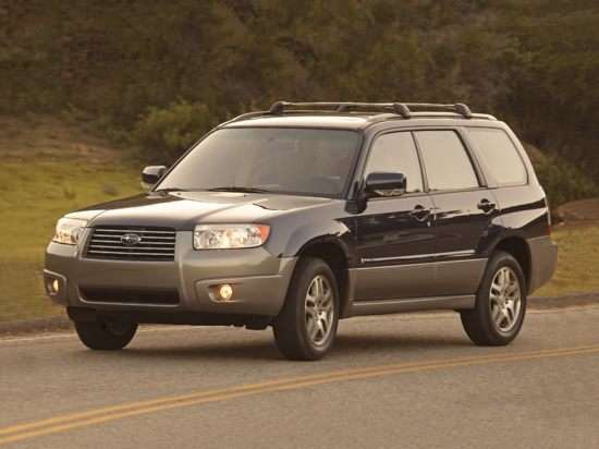 2006 Subaru Forester Models Trims Information And