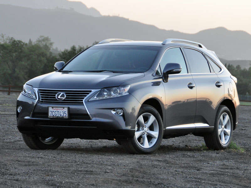 2014 Lexus RX 350 Luxury SUV Road Test And Review