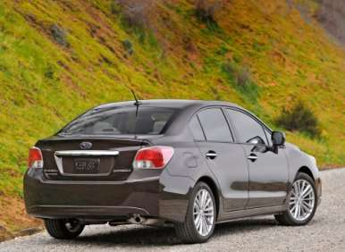 Best MPG AWD Cars with Automatic Transmissions: Subaru Impreza