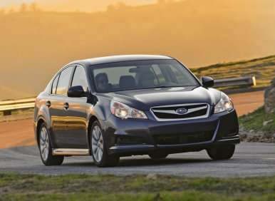 Best MPG AWD Cars with Automatic Transmissions: Subaru Legacy