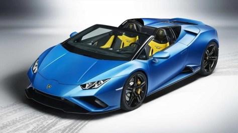 Lamborghini Huracán EVO RWD Spyder, el convertible más barato de la gama hace su debut virtual