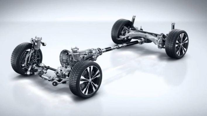 Mercedes-Benz 4Matic transmisión suspensión