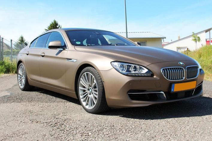 Instalacion de vinil para autos BMW Serie 6 Gran Coupé