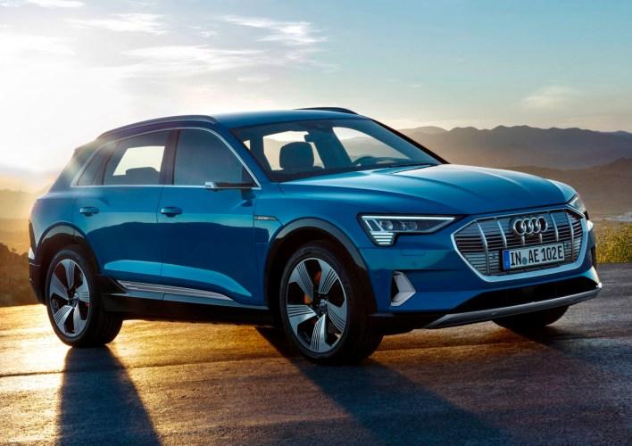 La Audi e-Tron está equipado con este sistema