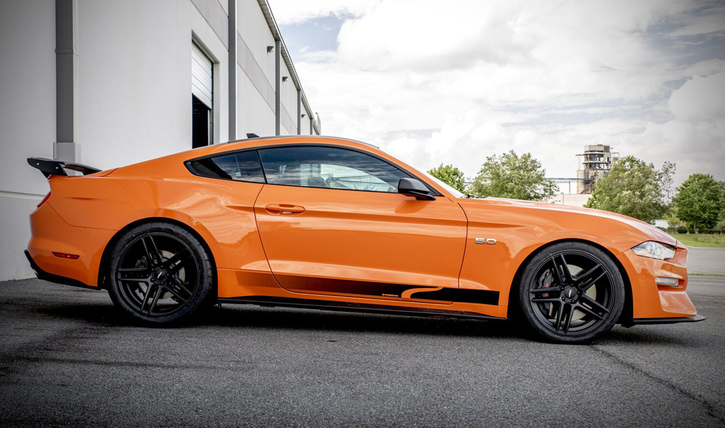 El muscle car logra acelerar de 0 a 100 km/h en 3.1 km/h