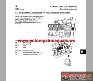 DAF 95 XF Electrical Wiring Diagram | Auto Repair Manual