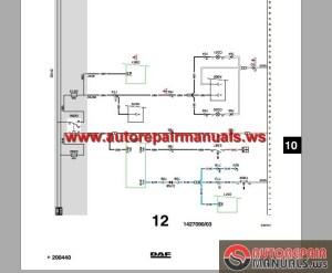 DAF LF45, LF55 Electrical Wiring Diagram | Auto Repair