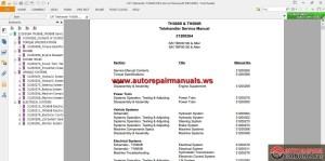CAT Telehander TH360B (TBH) Service Manual | Auto Repair Manual Forum  Heavy Equipment Forums
