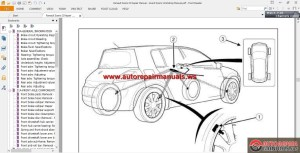 Renault Scenic II Repair Manual  Grand Scenic Workshop