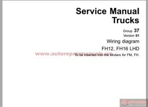 Volvo FH12 C Type Workshop Manual Group 37   Auto Repair