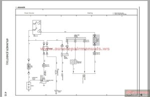 Toyota 4 Runner 2006 Electrical System Wiring Diagram