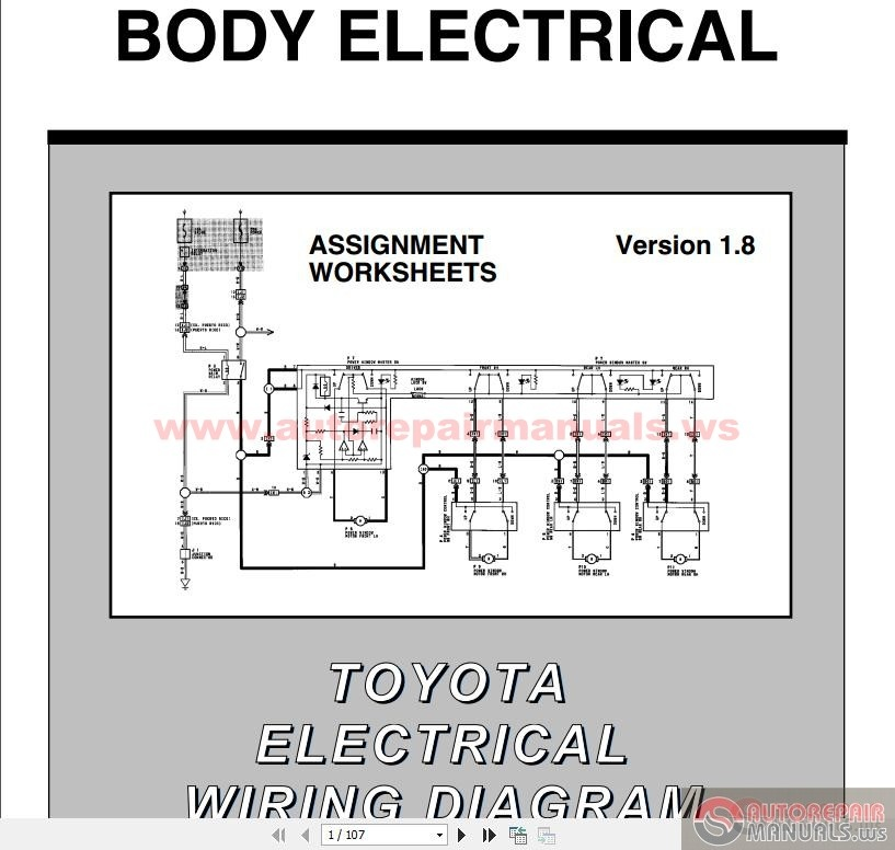 Wiring Diagram Toyota Fortuner : Toyota fortuner electrical wiring diagram