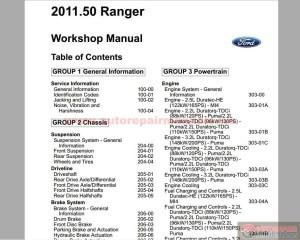 Keygen Autorepairmanualsws: Ford Ranger 2011 50MY