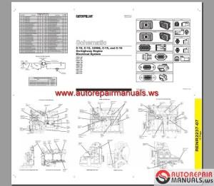 Diagrama Electrical Caterpillar 3406E, C10, C12, C15, C16