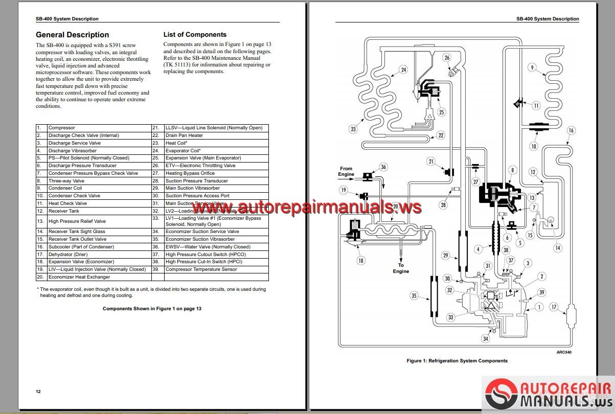 Refrigeration Schematic Diagram