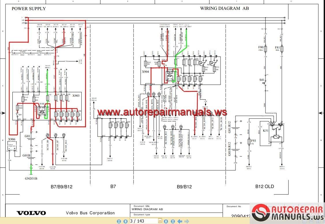 Volvo fuse box diagram volvo truck air supply diagram jpg 1126x776 Volvo  vnl fuse box diagram