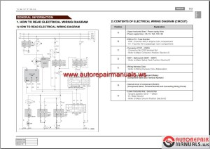 SsangYong Rexton Y270 200709 Service Manuals and Electric Wiring Diagrams | Auto Repair Manual