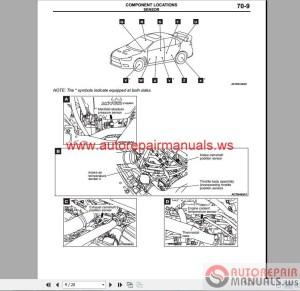 Mitsubishi Lancer Evolution X 2008 Wiring Diagrams | Auto