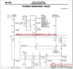Mitsubishi Lancer IX 2006 Wiring Diagrams | Auto Repair