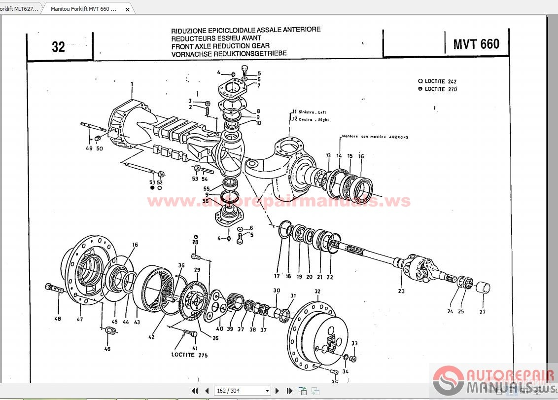 manitou wiring diagrams
