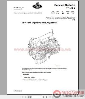 Mack MP8 Service Manuals and Diagrams | Auto Repair Manual