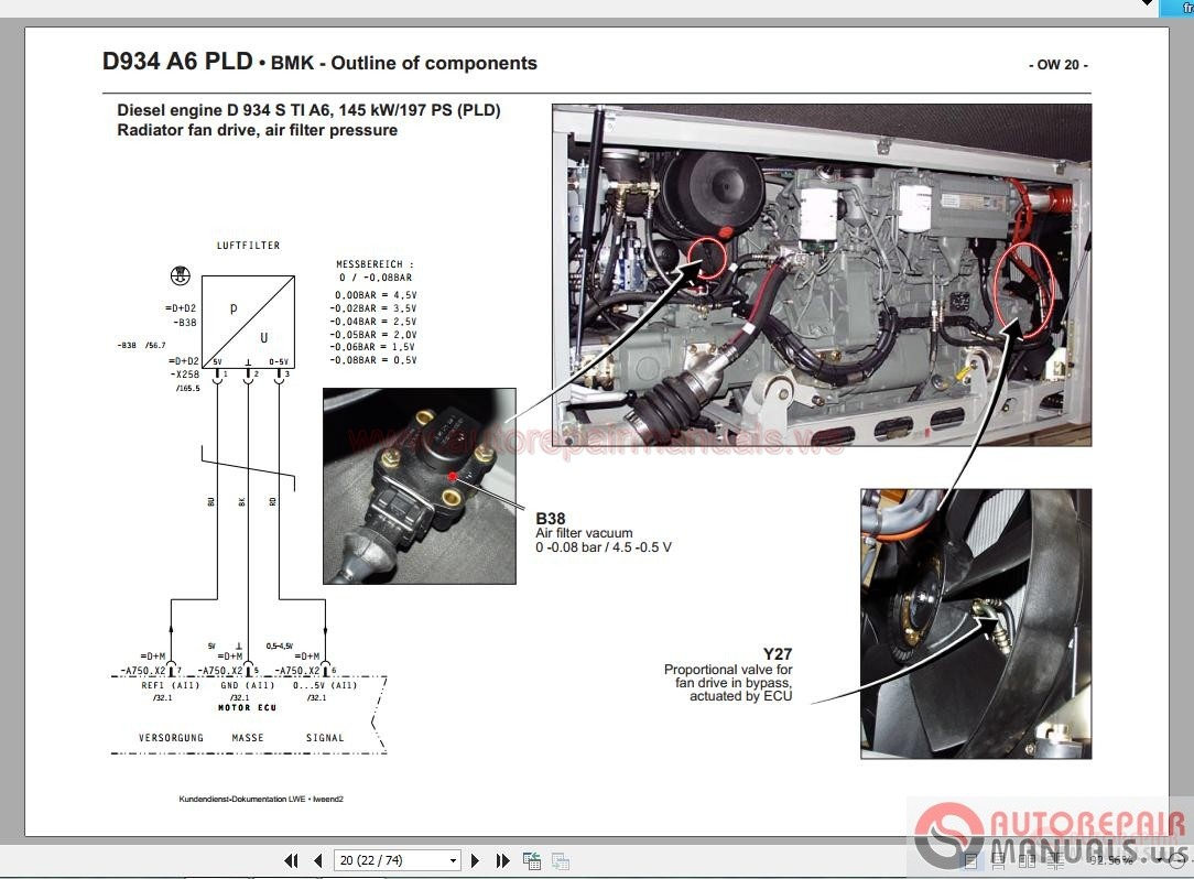 Liebherr New Engine Cr And Pld Technical Information