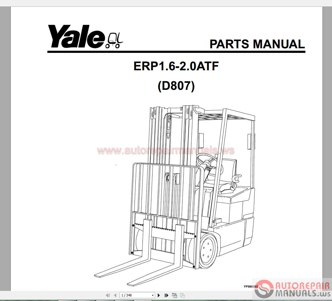 Yale Part Diagram