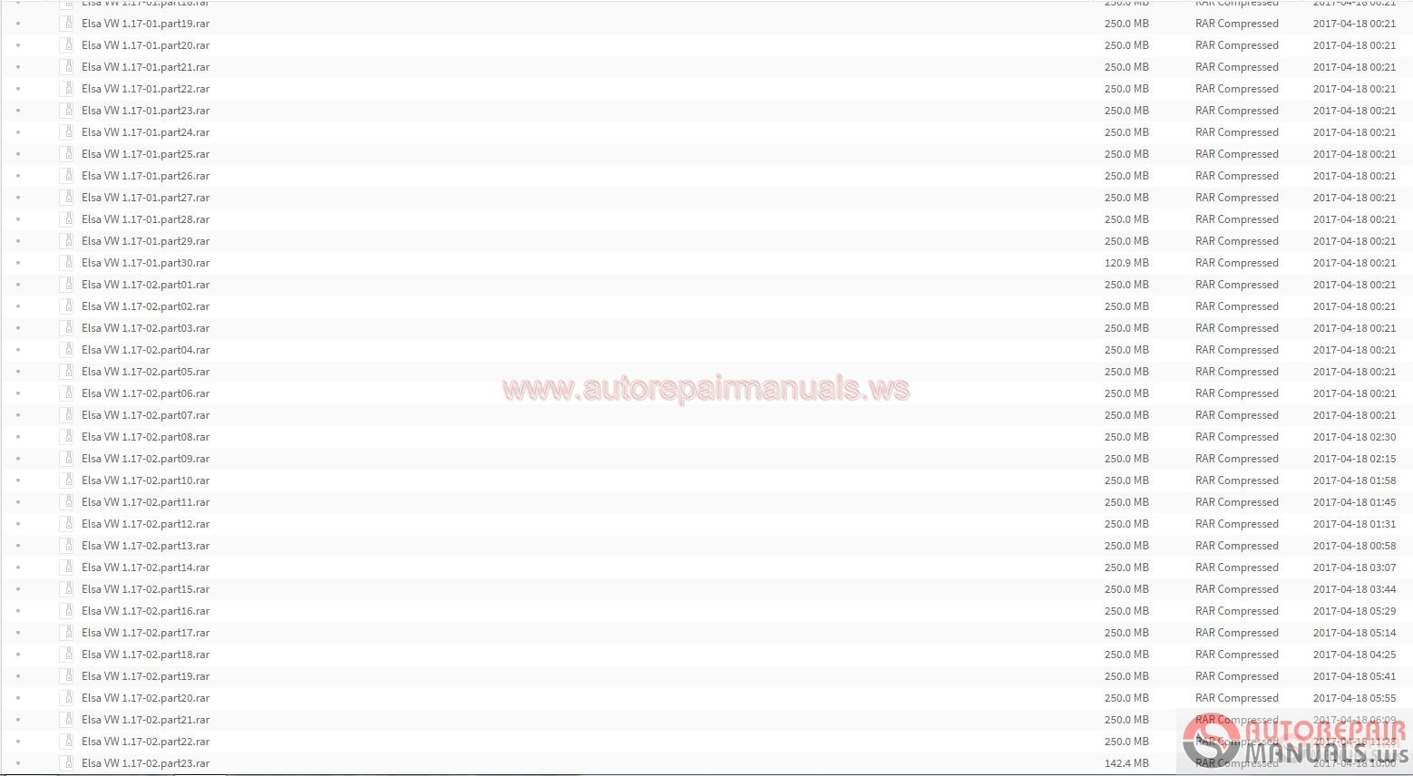 Auto Repair Manuals Elsawin 6 0 Plus Vw 01