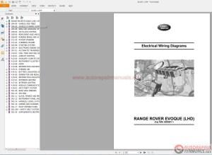 Land Rover Evoque 2012 Electrical Wiring Diagram | Auto