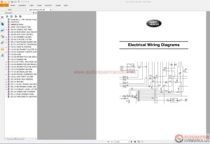 Land Rover  Range Rover Electrical Wiring Diagram Guides