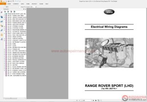 Range Rover Sport L3201~1 2011 Electrical Wiring Diagram