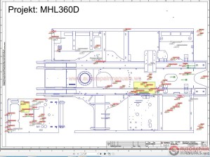 Terex Fuchs MHL360D Wiring Diagram | Auto Repair Manual