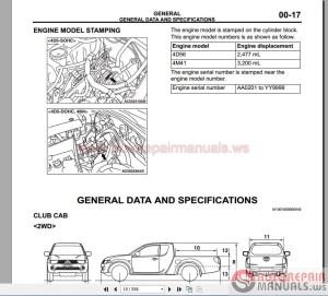 Mitsubishi Triton L200 Workshop Manual 20062013 | Auto Repair Manual Forum  Heavy Equipment