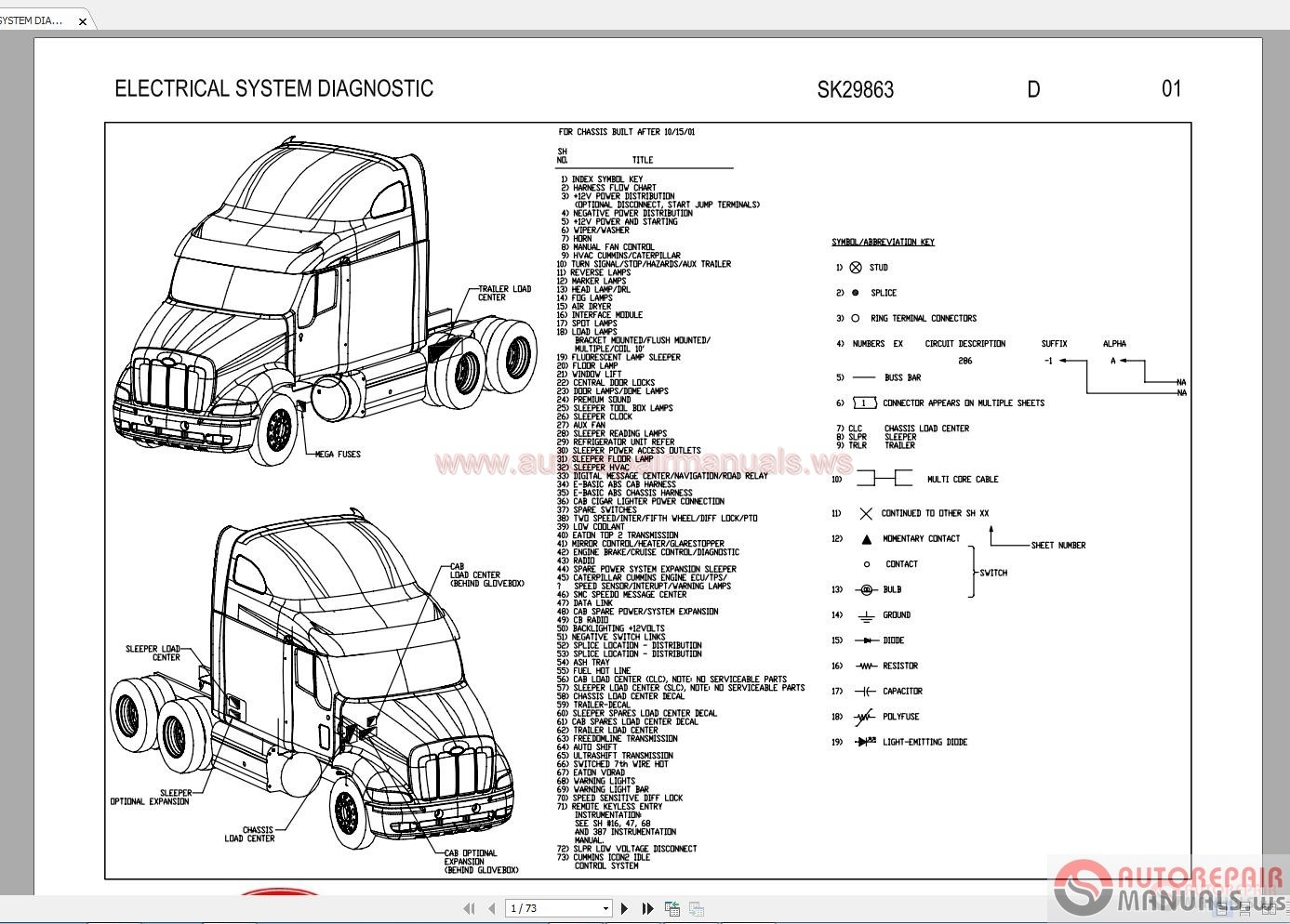 Peterbilt 579 Wiring Diagram