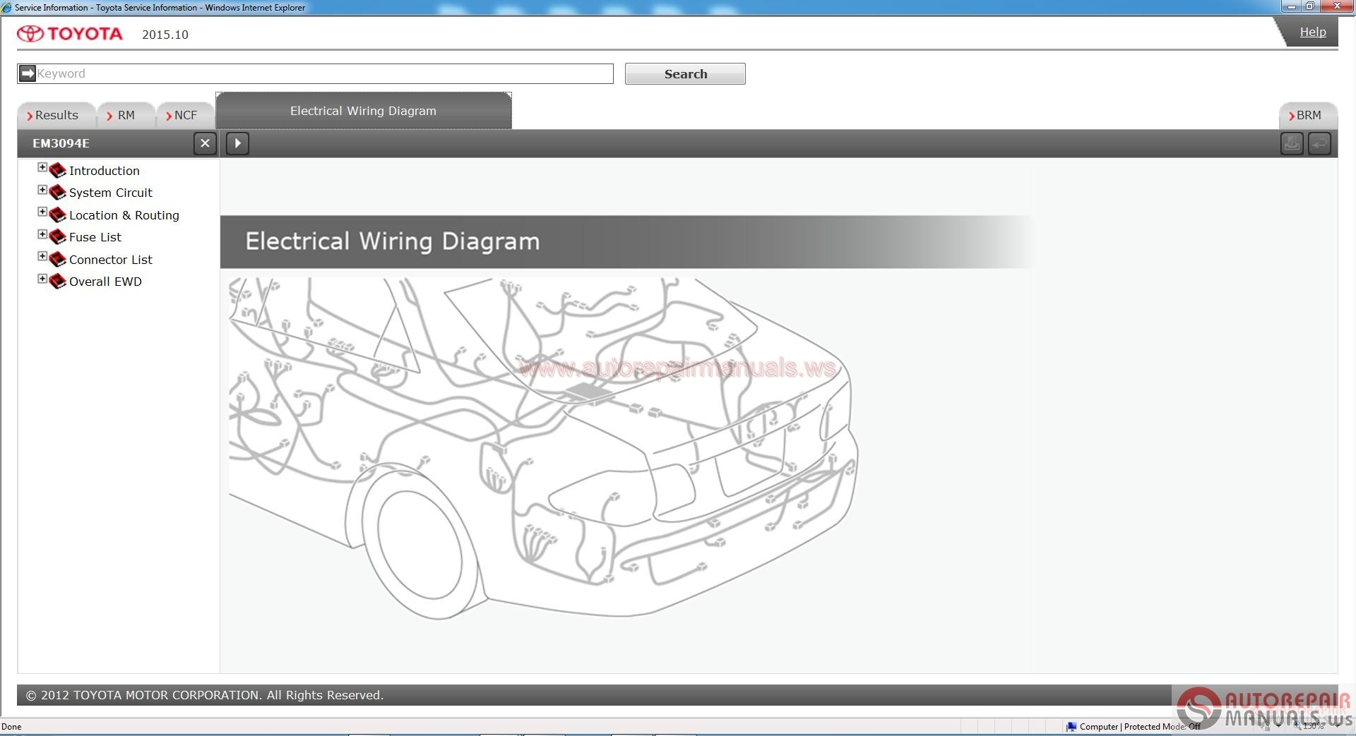 Toyota Service Manual Workshop Manual Wiring Diagram Dvd