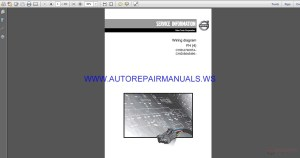 Volvo Trucks Corporation FH4 Wiring Diagram Service Manual | Auto Repair Manual Forum  Heavy
