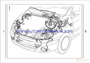 Renault Megane Scenic X64 NT8191A Disk Wiring Diagrams
