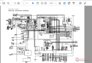 Zaxis ZX330370MTH 330L Wiring Diagram | Auto Repair Manual Forum  Heavy Equipment Forums