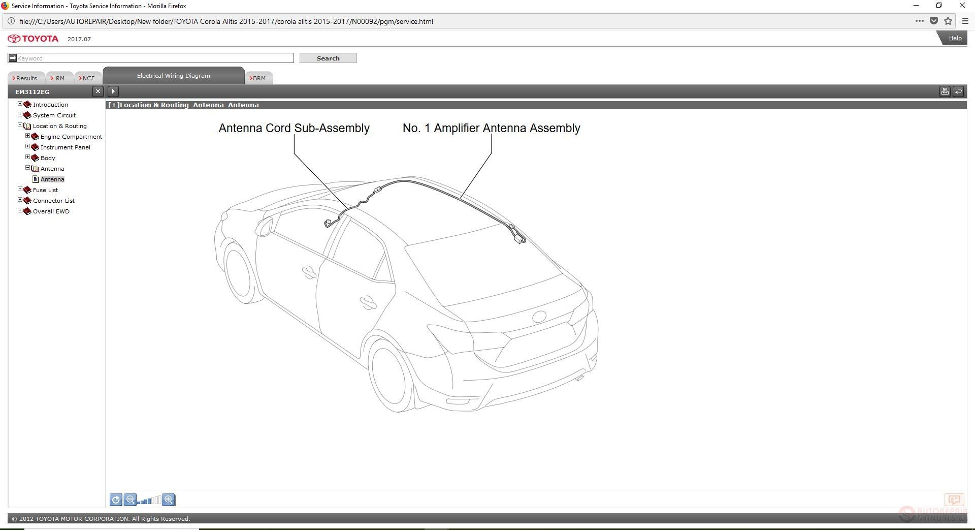 Toyota Corola Alltis Workshop Manual