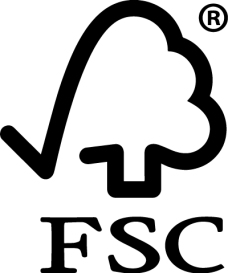 FSC trademark shows the paper used by company comes from responsible sources.