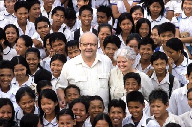 Christian des Pallières, fondateur de « Pour un sourire d'enfant », est mort