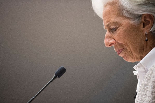 La directrice générale du FMI Christine Lagarde à Washington, le 14 juillet 2016 / AFP/Archives